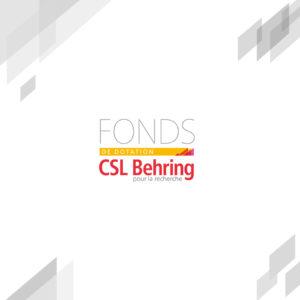 Fonds de dotation CSL Behring
